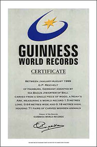 Arche Noah - Guiness Record 1999
