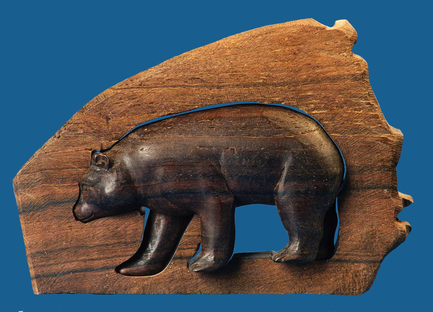 Entstehungszeit Nach 1945 Antiquitäten & Kunst Das Beste Gorilla Aus Ebenholz